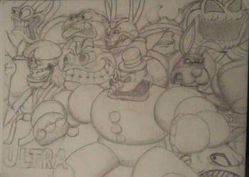 Clayfighter early poster by Dorkyguy