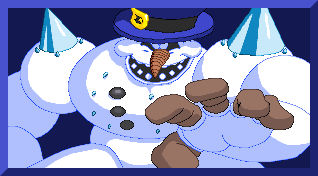 Clayfighter Bad Mr Frosty Winning Portrait