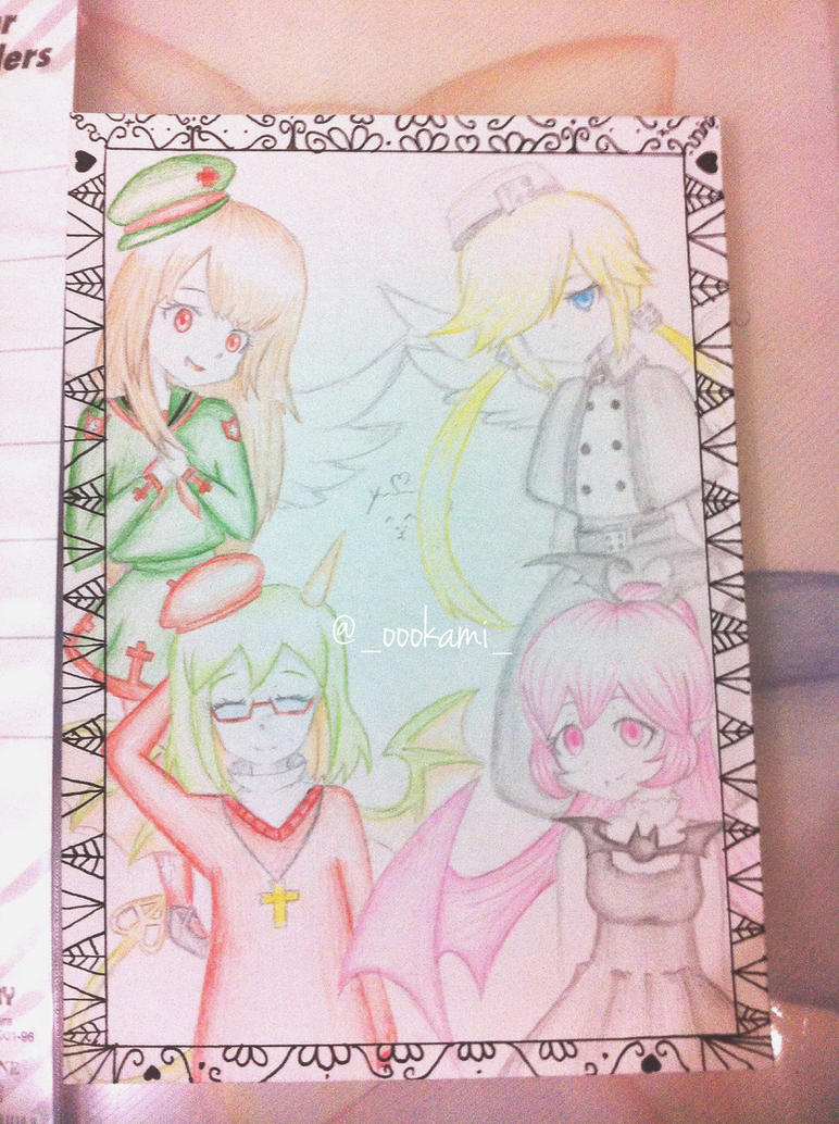 fan art by me the gray garden 2 by oookamiofficial