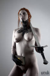 The Sword Woman by Uruk1