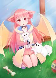 Mabinogi: Spring Doggy by Tagatsu