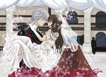 VK Wedding's day Zero and Yuuki by SteefLess