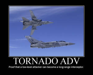 Tornado F3 Motivational Poster