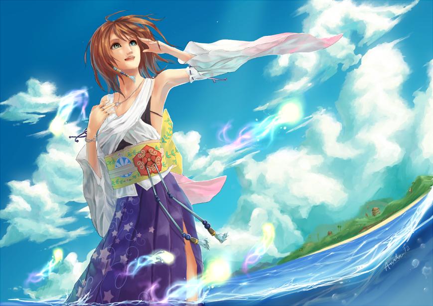 FFX -- Sea Hibiscus by Aureta