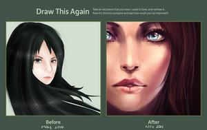 2010-2011 Draw Again Meme -- realism ver. by Aureta
