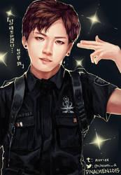 [BTS] -- Officer Jungkook by Aureta