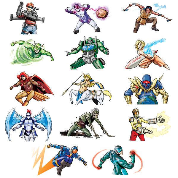 superheroes alliance sidekicks 6 by self