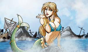 Mermaid Siren by self-replica