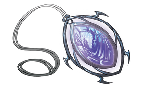 Scrawler's Pendant