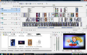 Sony vegas screen shot