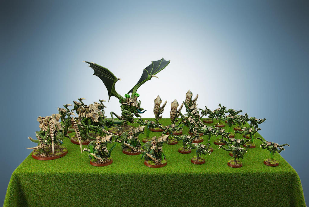 Tyranid Army by Minion-Studio