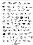 +85 eyes references+ by Ace093