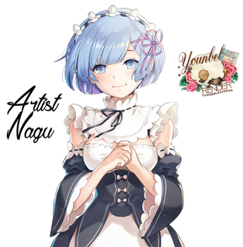 Rem Render By YounBel2000 by younbel2000
