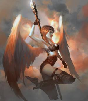 Sky warrior by Ksandork