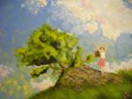 Summer Girl - Oil Painting