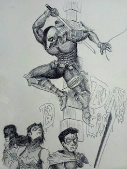 Deathstroke Fan Art