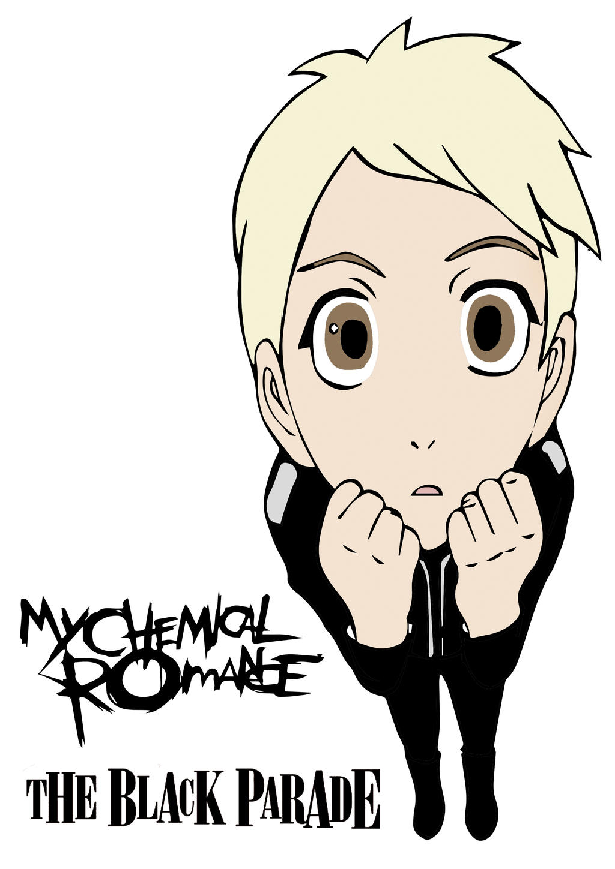 my chemical romance chibi the black parade