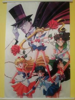 Sailor Moon Crystal Wallscroll