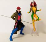kotobukiya ArtFX+ X-Men '92  Rogue and Gambit by kerostar23