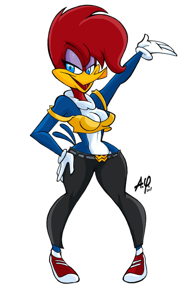 Winne Woodpecker fanart by TOONAMIX