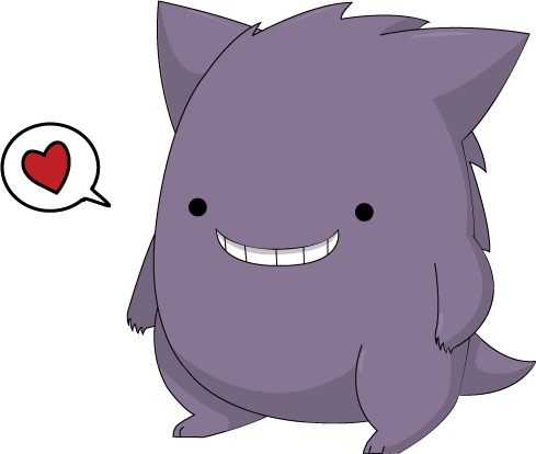 Cute gengar by Digillama on DeviantArt