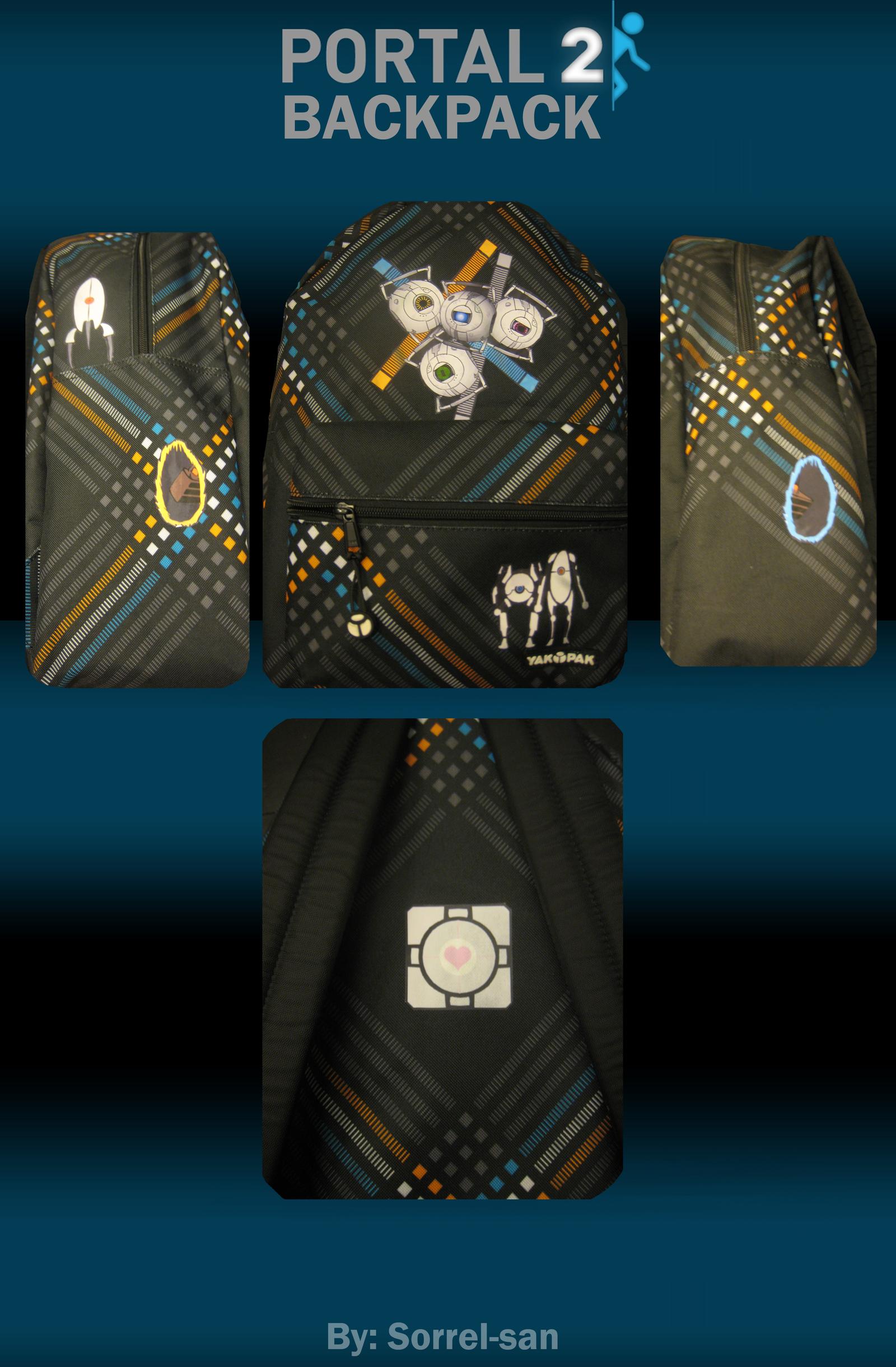 Portal Backpack by Digillama