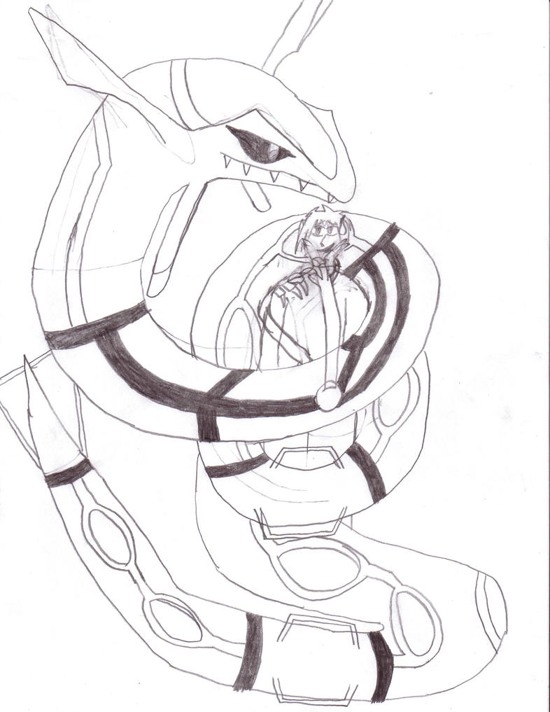 Mega rayquaza coloring pages coloring coloring pages for Rayquaza coloring pages