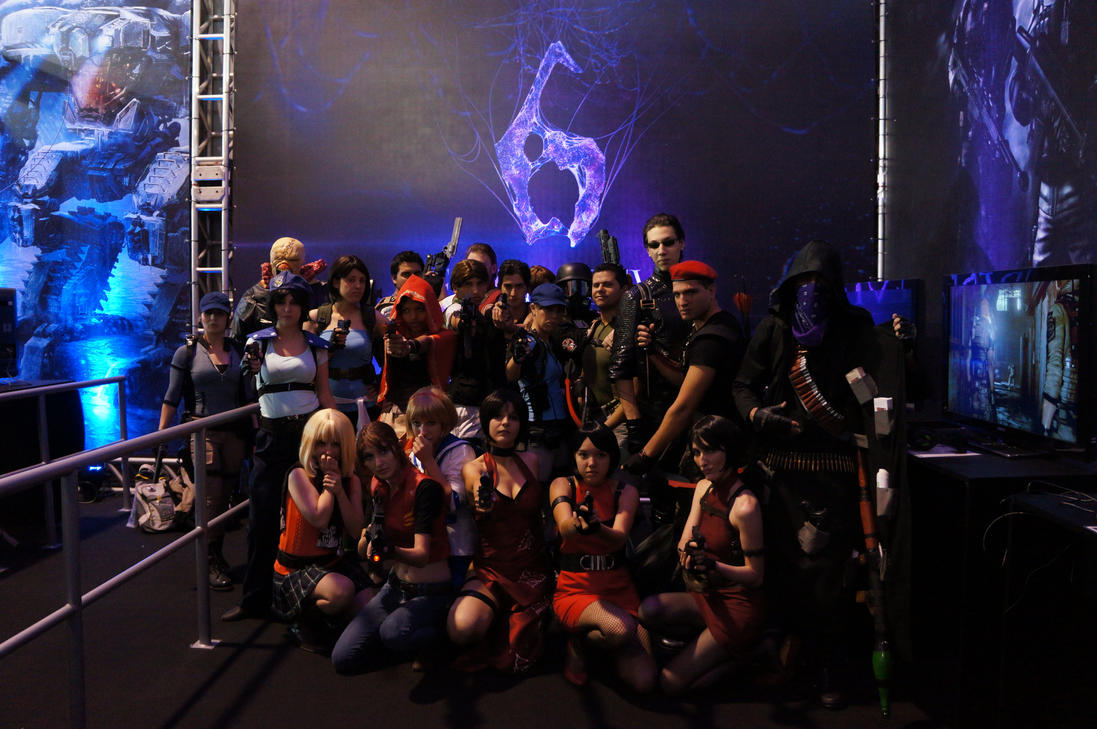Resident Evil BGS 2012 Group by IKevinXSer