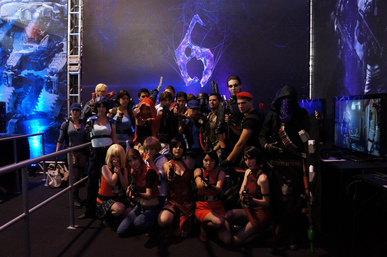 Resident Evil BGS 2012 Group by IKevinXSer