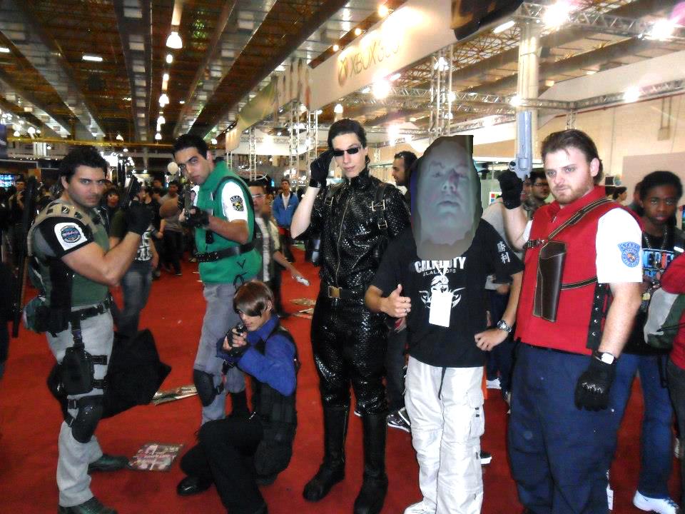 Resident Evil Cosplay :: Go Go Power Rangers !! by IKevinXSer
