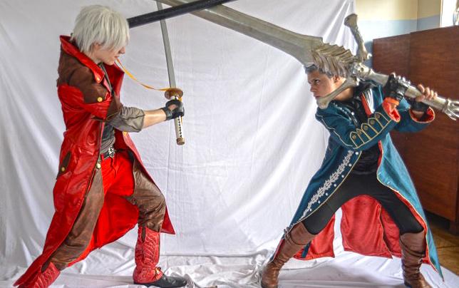 DMC : Dante vs Vergil :: Weapon Swap by IKevinXSer