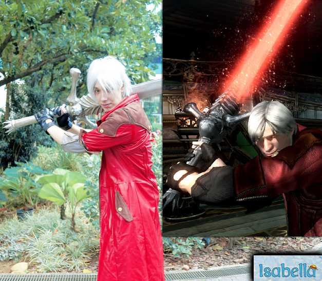 Dante Cosplay :: Get outta here! by IKevinXSer