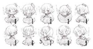 10 Chibi Expressions