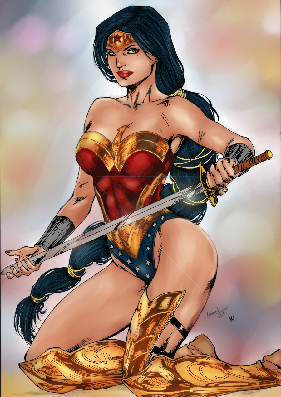 Wonder Woman by PsychedelicHeroin
