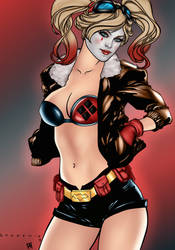 Harley Quinn Bombshell by PsychedelicHeroin