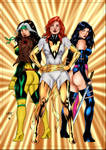 Rogue Phoenix And Psylocke by PsychedelicHeroin