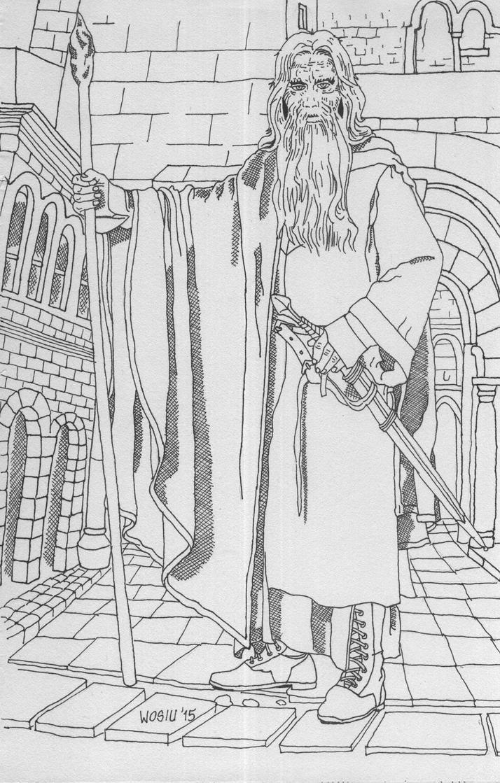 Mithrandir by Wosiu1989