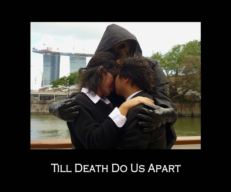 an analysis of till death us do apart Julius caesar read the sparknote  o antony, beg not your death of us  only be patient till we have appeased.