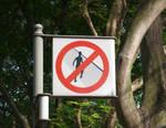 No Trespasing Allowed