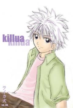 Killua of Hunter X Hunter