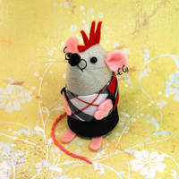 Punk Mouse by The-House-of-Mouse