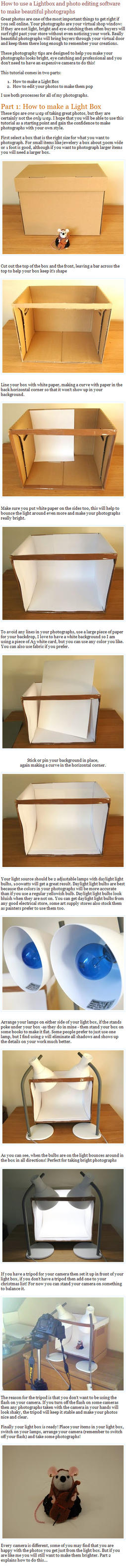 How to make a Light box by The-House-of-Mouse