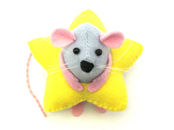 Ray the Mouse in Star Costume by The-House-of-Mouse