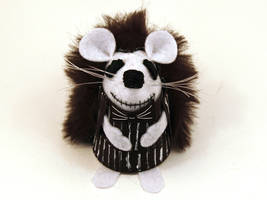 Jack Skellington Hedgehog by The-House-of-Mouse