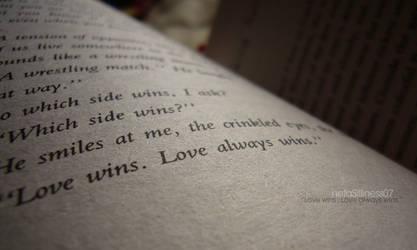 LoveWins.LoveAlwaysWins.