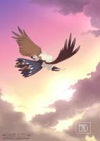 I Want to Fly 37 by inkhana