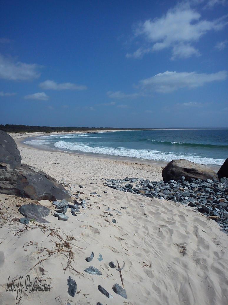 Beach Trail by butterfly-V