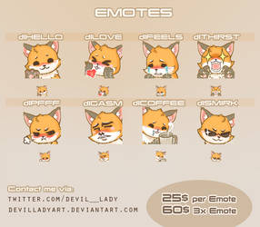 Emotes Commissions