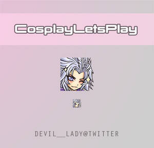 Emote for CosplayLetsPlay