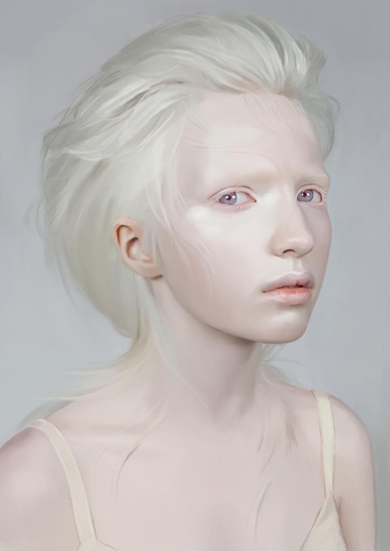sex Naked albino girl